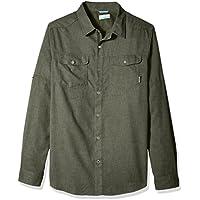 Columbia Herren Pilsner Lodge Long Sleeve Shirt, Surplus Green Heather