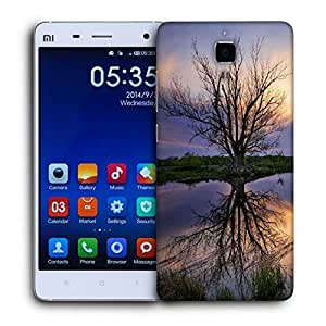 Snoogg Trees Without Leaves Printed Protective Phone Back Case Cover For Xiaomi Mi 4