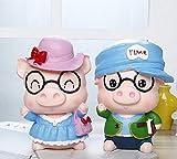 Xizi Kreative Kinder Geburtstagsgeschenk überdimensionalen Cartoon Porzellan Schwein Sparschwein