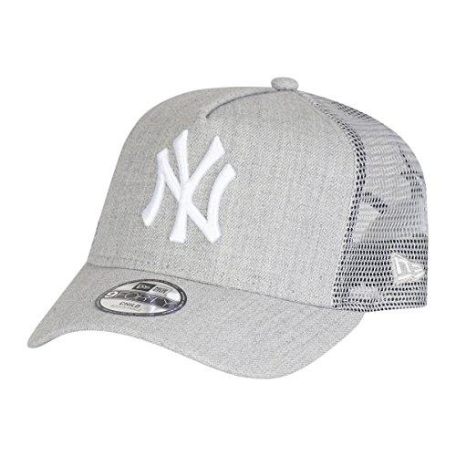New Era MLB Heather Kinder Trucker Cap NY Yankees Grau, Size:Youth