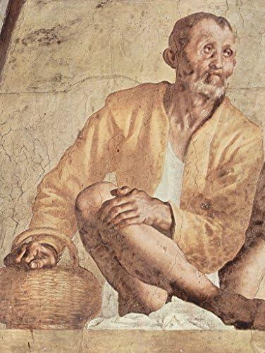 Lais Lais Lais Puzzle Jacopo Pontormo - Partie Gauche de la Lunette, Vertumnus et Pomona 200 Pieces B07DLF2CD2 145bee