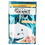 Purina Gourmet Perle Mini Fillets in Gravy with Chicken, 85g