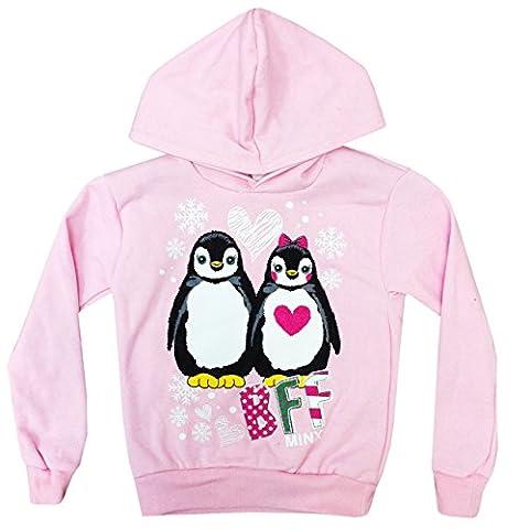 Minx Mädchen Sweatshirt Rosa Pink