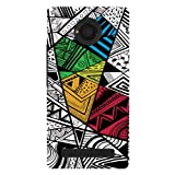 Kaira brand Designer Hard Back Case Cover for Micromax YU Yunique 4G (Color Doodle)
