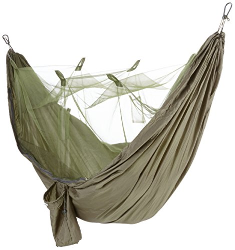 highlander crusader hammock ― free mosquito net, hanging kit & tarp included ― lightweight & durable ― perfect for trekking, bushcraft, camping, jungle adventures