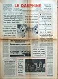 DAUPHINE LIBERE (LE) N? 8894 du 14-07-1973 JUGEMENT DANS L'AFFAIRE LIP - LIQUIDATION DES BIENS - LA FOIRE AUX VIOLETTES DE SAINTE-EULALIE - LA MALADIE DE NIXON - LE TOUR DANS LES PYRENEES - VAN IMPE - ARGENTINE - LE PRESIDENT CAMPORA CEDE LA PLACE AU