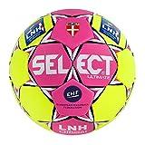 Select - Ballon Handball LNH OFFICIEL Jaune T3 Taille - T3