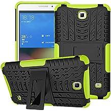 Funda para Samsung Galaxy Tab 4 7.0,XITODA Hybrid TPU silicone & Duro PC Protección Cover para Samsung Galaxy Tab 4 7.0 pulgadas SM-T230/T231/T235 Tablet Case Funda con Kickstand / Stand - Verde