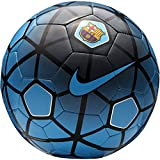 #1: Nike FCB Supporters Football, Size 5 (Blue/Black/Silver)