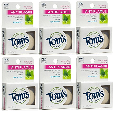 toms-of-maine-natural-waxed-flossing-ribbon-spearmint-32-yards-by-toms-of-maine