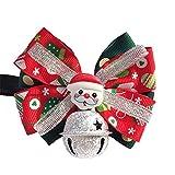ZREAL Haustier Hund Katze Puppy Collar Neck Strap Bowknot Einstellbare Weihnachten Weihnachtsmann Bell