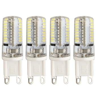 4X G9 3W Ampoule Lampe Spot 64 LED 3014 SMD Blanc 6500K 250LM