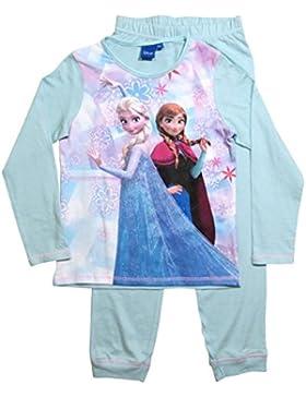 Frozen Pyjama Die Eiskönigin Kollektion 2017 Schlafanzug 98 104 110 116 122 128 Völlig Unverfroren Mädchen Lang...