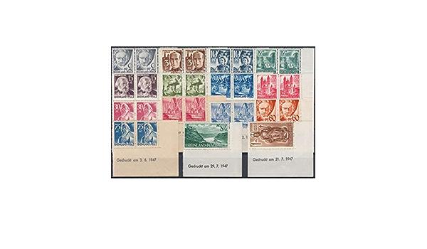 Goldhahn Franz/ösische Zone Rheinland-Pfalz Nr 1-15 Freimarken 1947 postfrisch ** Briefmarken f/ür Sammler