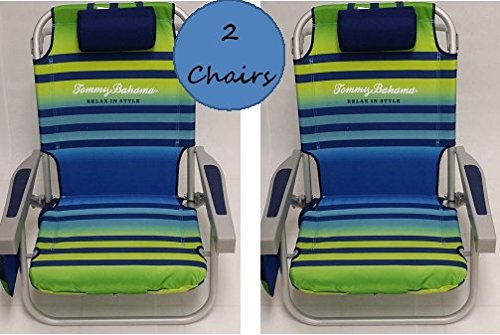 2-tommy-bahama-2015-backpack-cooler-chairs-with-storage-pouch-and-towel-bar-green-light-blue-by-tomm