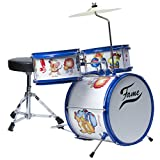 Kiddyset 3 PC Junior Drumset Schlagzeug