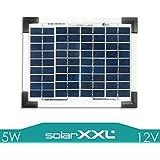 5W Panel Solar 12V polykristallin Módulo Solar Fotovoltaico panel Caravana camping solarxxl
