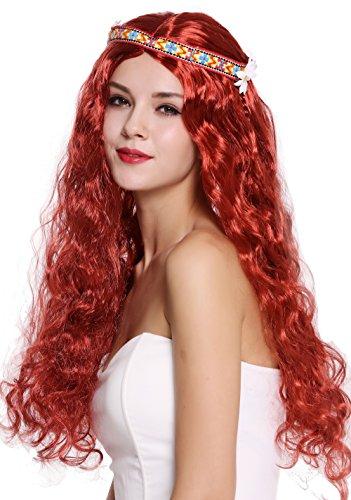 WIG ME UP ® - 91298-ZA350 Peluca Mujer Hombre Carnaval