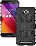 #3: Asus Zenfone Max ZC550KL Shock Proof Case Cover BY GRACIAS (BLACK)