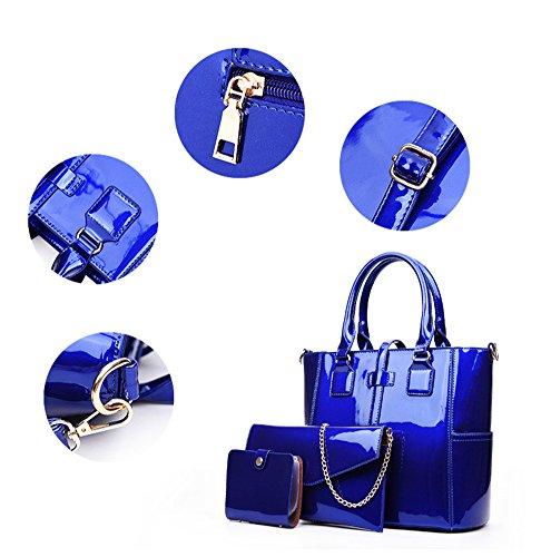 Yan Show, Borsa a tracolla donna blu Blue large Blue