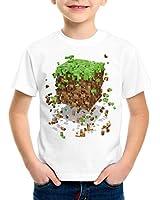 A.N.T. Exploding Cube T-Shirt für Kinder block würfel spiel game