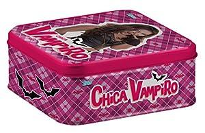 Topps-Cv635-Caja de Metal para Coleccionar Tarjetas, de Chica Vampiro