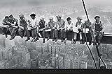 GB EYE LTD FP0432 Maxi-Poster New York, Männer auf einem Stahlträger, 61 x 91,5 cm