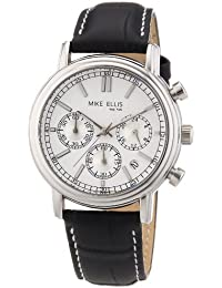 Mike Ellis New York Herren-Armbanduhr Analog Quarz M2263SSL/1