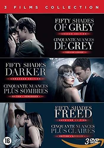 Cinquante Nuances-Fifty Shades : Coffret 3 Films [DVD]
