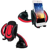 thanly universale 360° parabrezza cruscotto porta cellulare Supporto Supporto Supporto per iPhone SE 66S Plus 55S 5C 4S 4, HTC Galaxy S7S6S5S4S3Note 23457Nexus LG GPS PDA