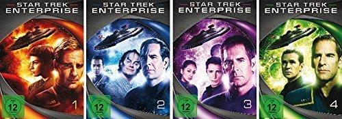 Star Trek - Enterprise/Season-Box 1-4 im Set - Deutsche Originalware [27 DVDs] (Trek-season Dvd Star 1)