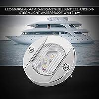Luz de barco Luz de barco marino Luz blanca de seguridad brillante para barco para exterior para interior