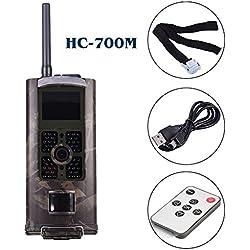 HC-700M 2G Wildkamera Fotofalle Wasserdichte Jagdkamera Trail Kamera Unterstützung MMS