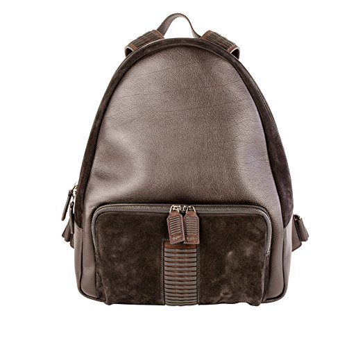 salvatore-ferragamo-homme-0643814-marron-noir-cuir-sac-a-dos