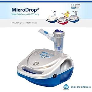MicroDrop 11994 Pro2 professionelles Komplett Inhalationsgerät für die ganze Familie