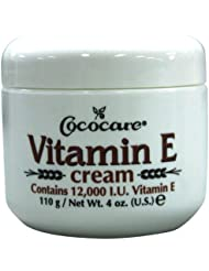 Cococare Vitamin E Cream with 12,000 I.U.. 110g
