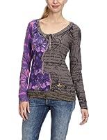 Desigual Chloe - T-Shirt - Coton - Femme