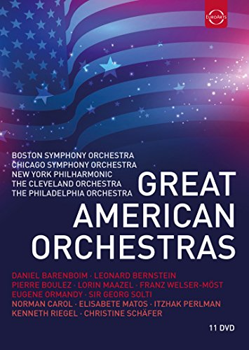 Great American Orchestras (Box11Dvd)