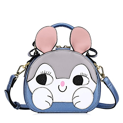 FZHLY Womens Cartoon Schultertasche Fashion Printed Student Handtasche Single-shoulder Bag Anime