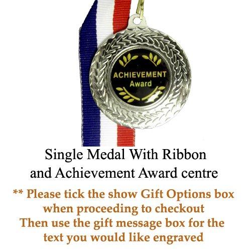 Achievement Award Silber Medaille mit Band 1Medaille nur (Award Achievement Medal)