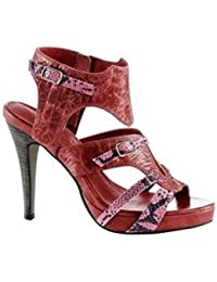 Best Connections Zauberhaft - Sandalette von BC aus Leder in Pink