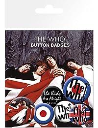 GB eye, The Who Lyrics and Logos, Pack de Chapas
