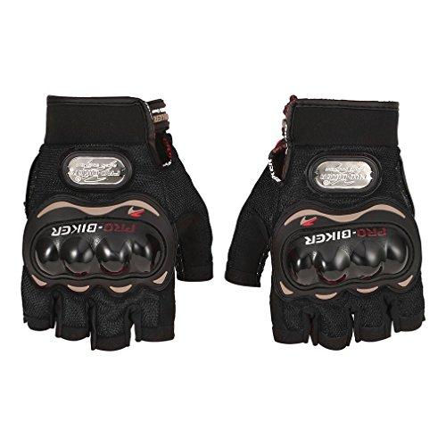 hou zhi liang Pro Biker Motorrad Handschuhe Half Finger Unisex Outdoor Motocross Racing Handschuhe