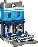 Herpa 800006 City: Polizeiwache mit Einsatzfahrzeug