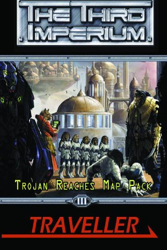 The Trojan Reaches Map Pack (The Third Imperium)