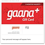 Gaana 3 Month Subscription - Digital Voucher