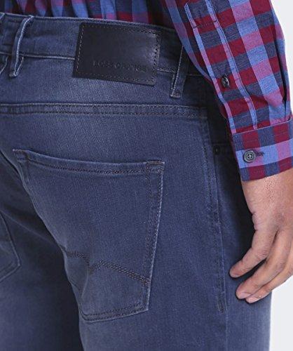 Hugo Boss Orange Hommes Orange24 ajustement régulier Barcelone Jeans Marine gris-bleu