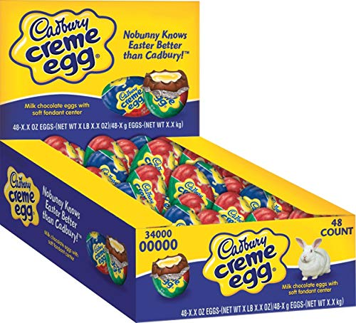 Cadbury Easter Creme Egg, 1.2-Ounce Eggs (Pack of 48)