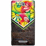 Printland Designer Back Cover For Sony Xperia C - Floral Cases Cover best price on Amazon @ Rs. 349