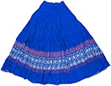 Retaaz Girls' Frills Long Skirt (RKGSKT2...